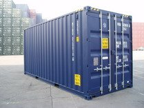 20' HC BLUE RAL 5013 shipping containers