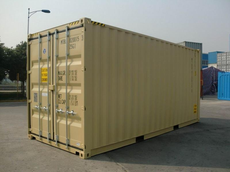 20 39 Hc Tan Ral 1001 Shipping Containers